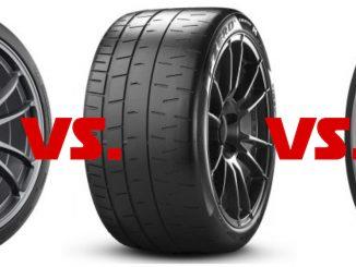 Semislick-Test- Michelin Pilot Sport Cup 2 vs. Pirelli P Zero Trofeo R vs. Toyo Proxes R 888