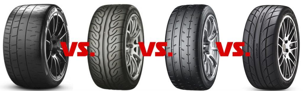 Semislick-Test- Pirelli P Zero Trofeo R vs. Yokohama Advan A052 und Advan Neova AD08R vs. Hankook Ventus RS3 Z222